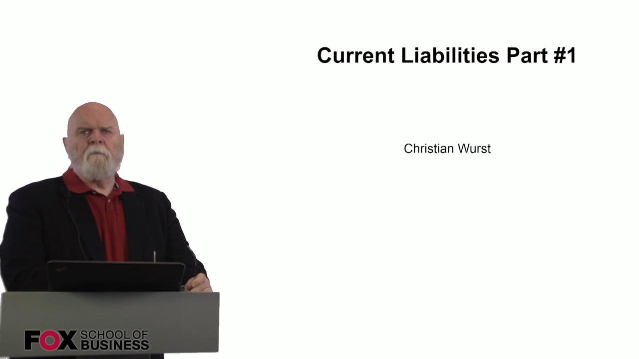 60940Current Liabilities Part 1