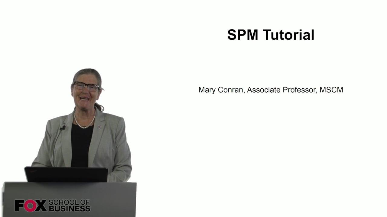 60761SPM Tutorial