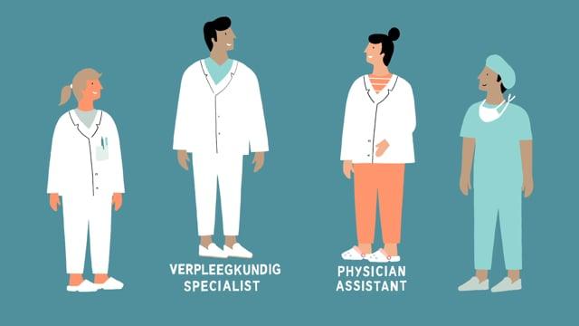 Werken bij - physician assistant