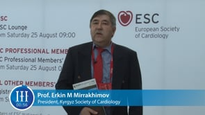 What is the biggest challenge in cardiology? I-I-I Video with Prof. Erkin Mirrakhimov, National Center of Cardiology