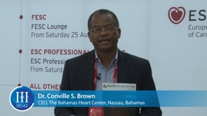 What is the biggest challenge in cardiology? I-I-I Video with Dr. Conville Brown, The Bahamas Heart Center