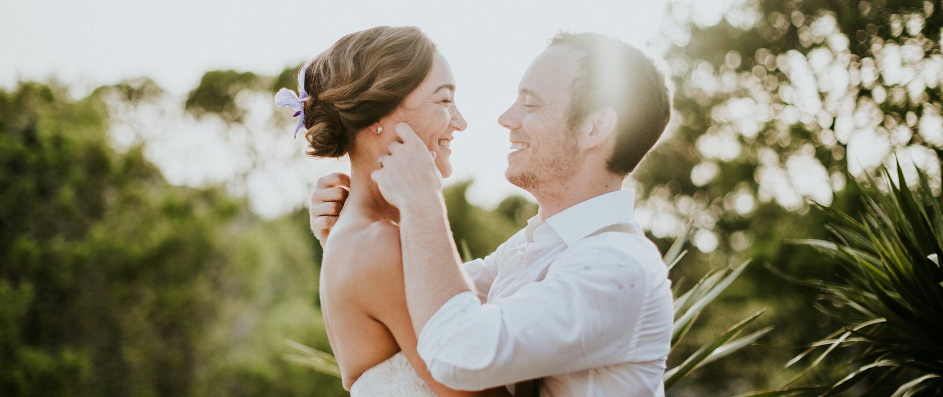 Laura & Jonathan Wedding Video Filmed at Ibiza, Spain