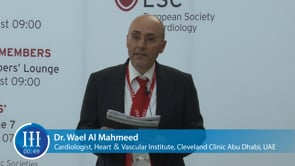 What is the biggest challenge in cardiology? I-I-I Video with Dr. Wael Al Mahmeed, Cleveland Clinic Abu Dhabi
