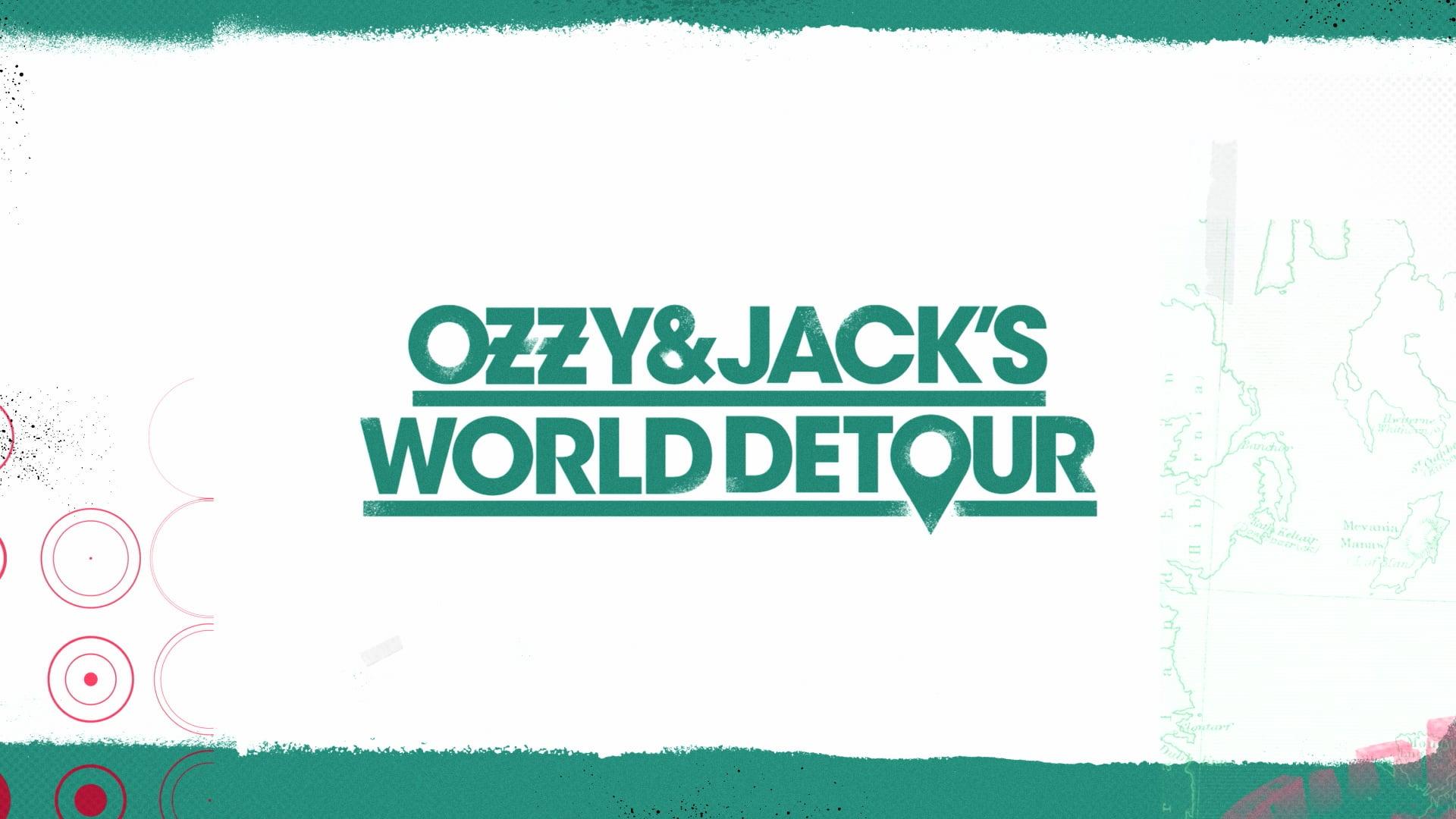Ozzy & Jack's World Detour - Season 3 Travel Maps