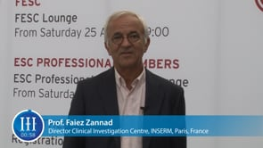What is the biggest challenge in heart failure? I-I-I Video with Prof. Faiez Zannad, INSERM