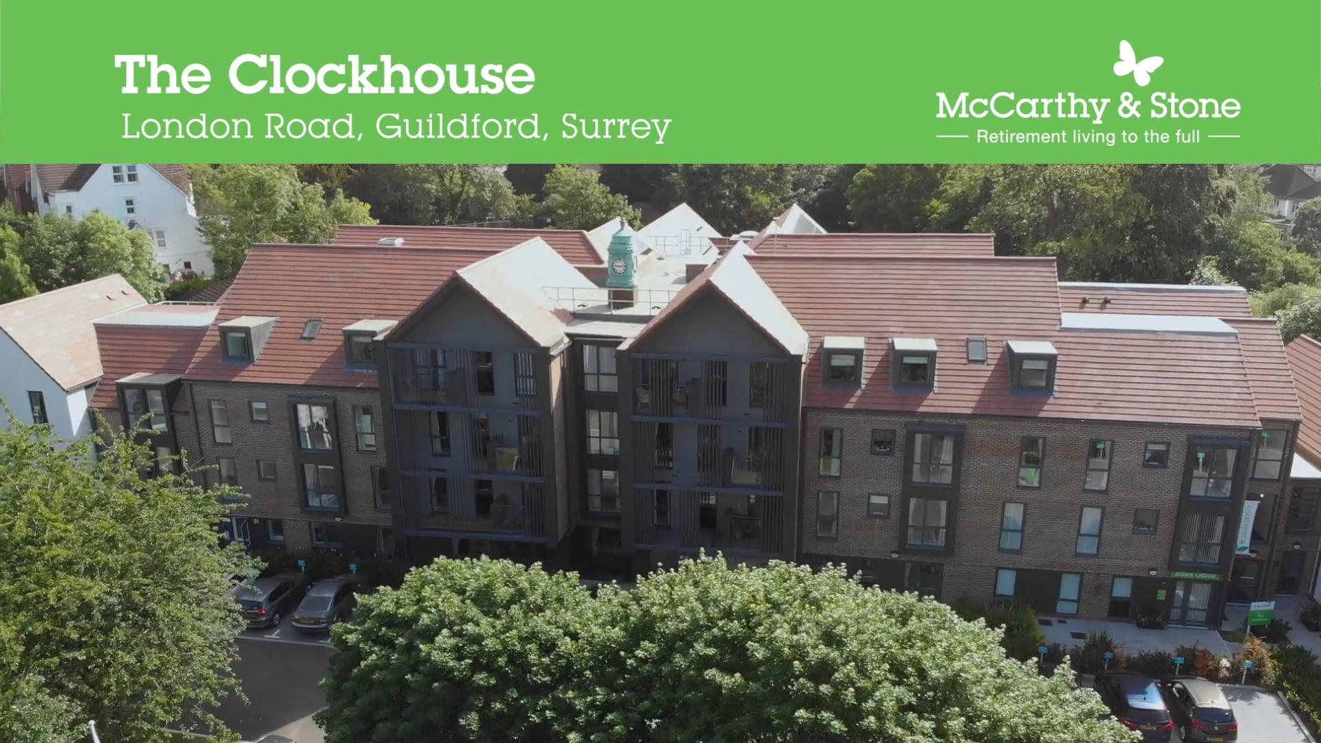 MCARTHY & STONE, THE CLOCKHOUSE