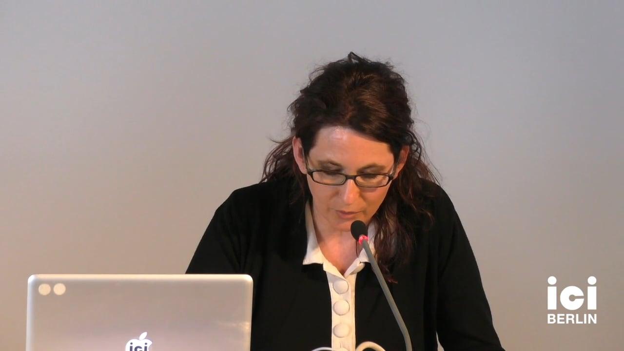 Talk by Christiane Frey (Panel III)