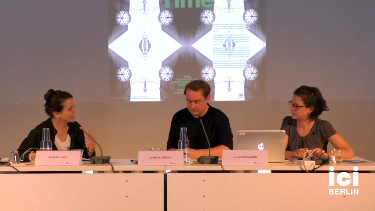 Response by Vivian Liska (Panel III)