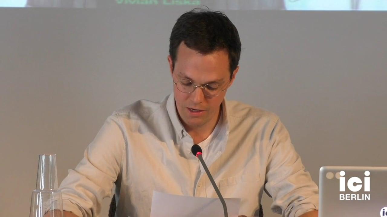 Talk by Tom Vandeputte (Panel III)
