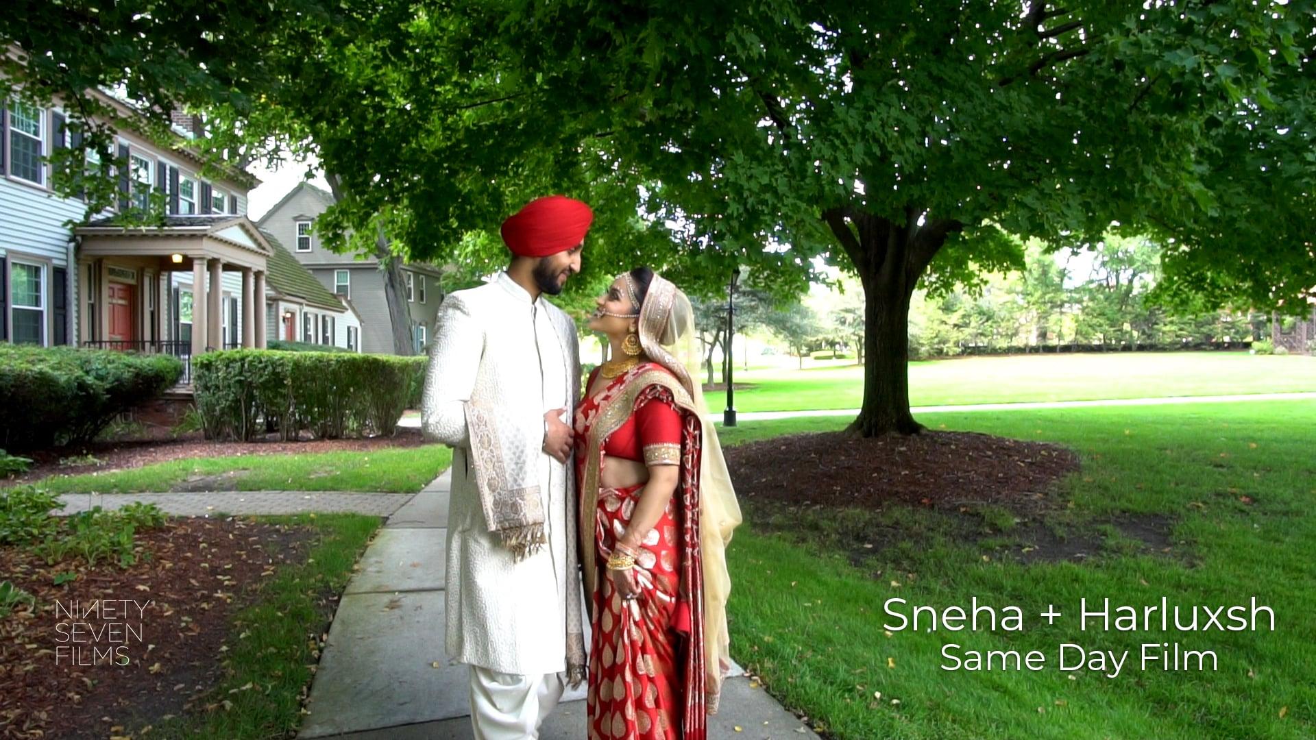 The Dearborn Inn Sikh & Hindu Wedding | Sneha + Harluxsh Same Day Film