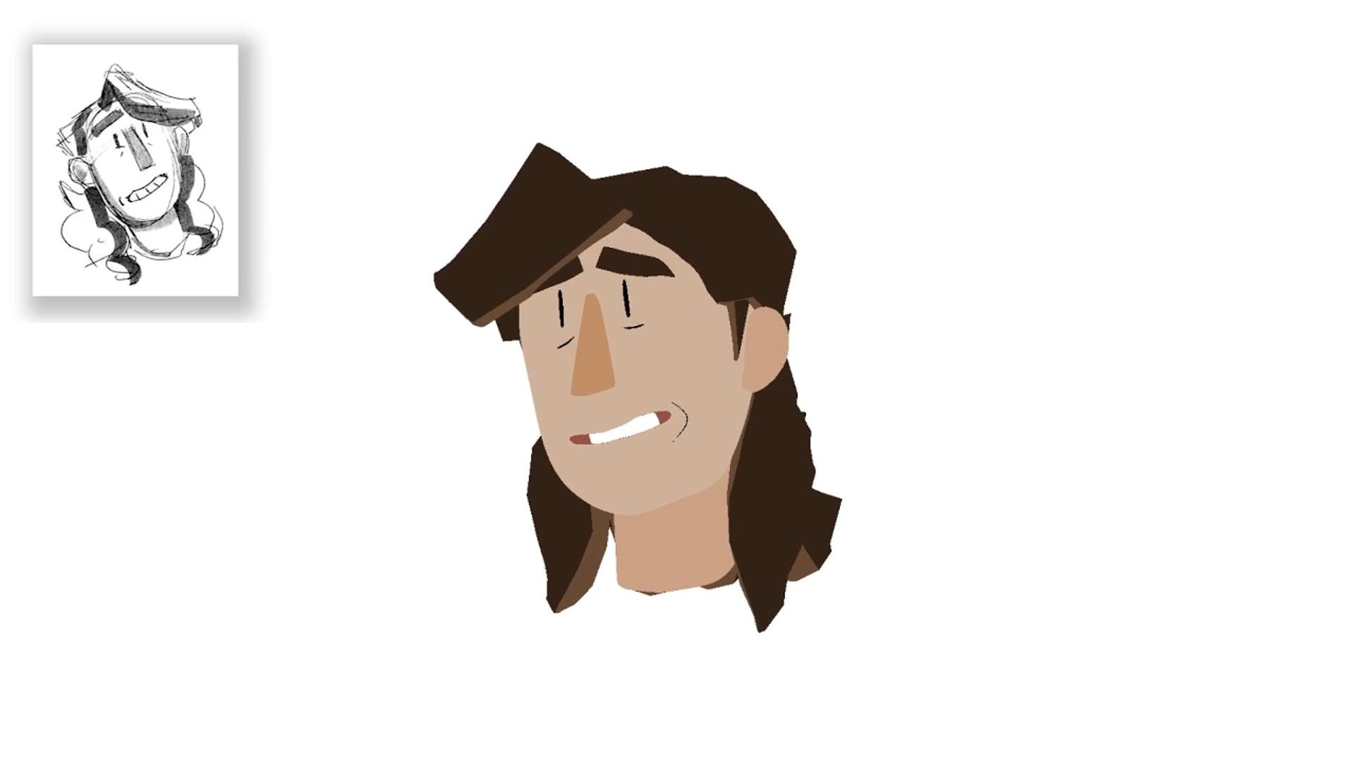 Fernanda Rig Animation Test