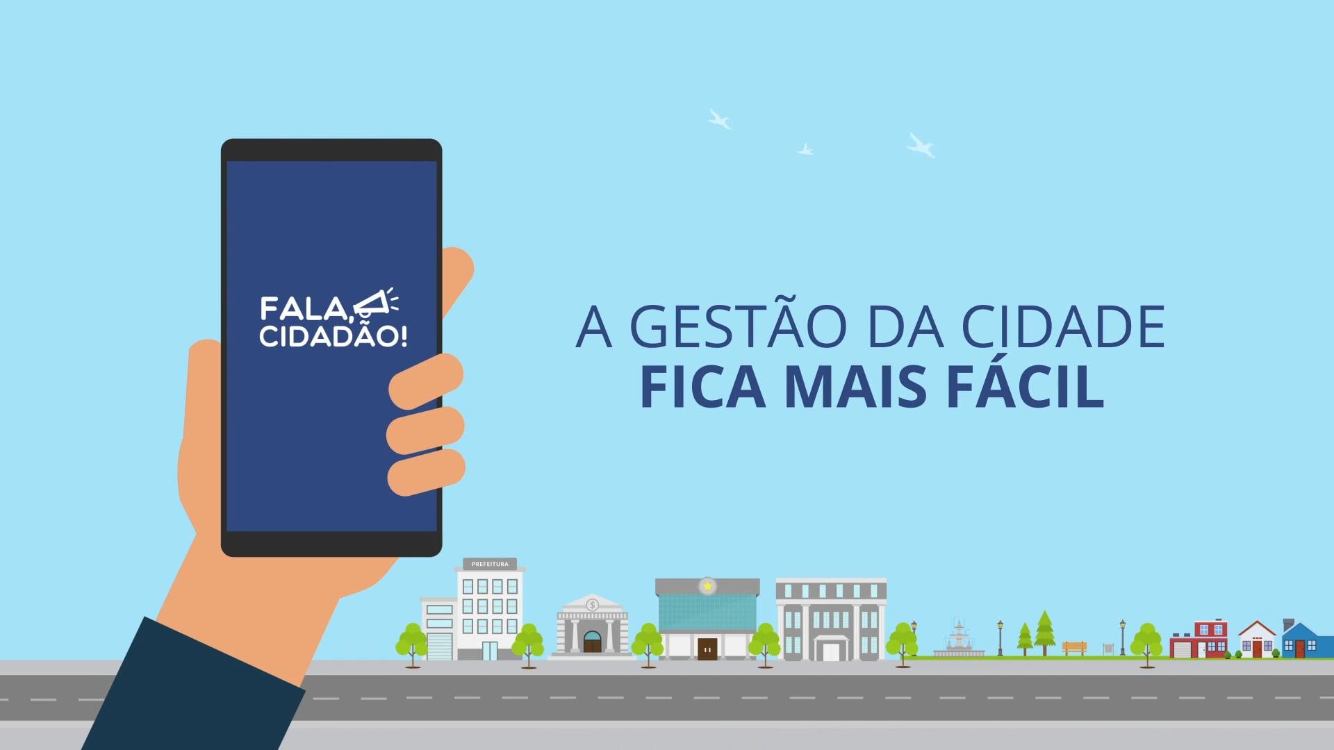 App Fala Cidadão