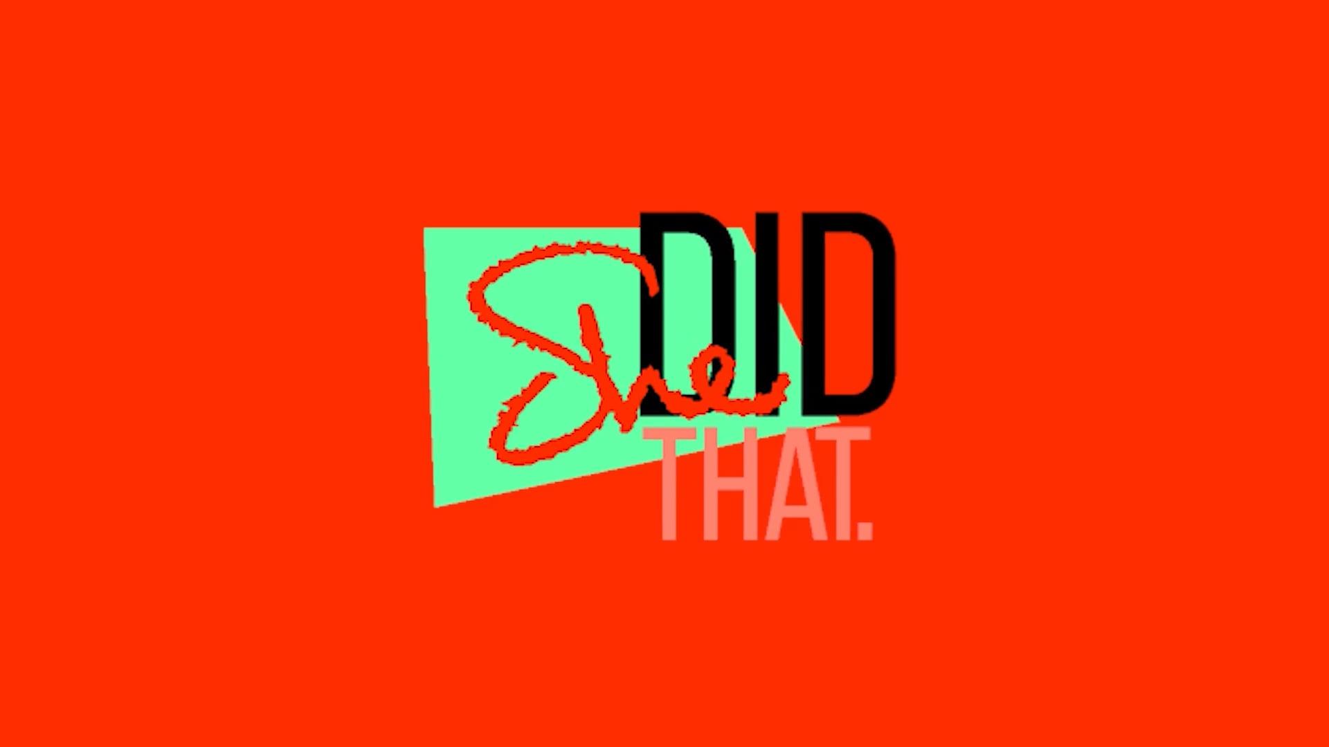 """""""She Did That."""" Trailer September 2018"""