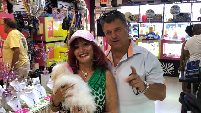 Diamonds & Doggies Famous Customer