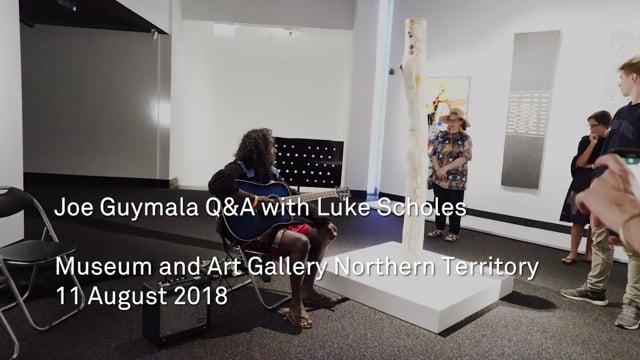 Joe Guymala Performance and Q&A with Luke Scholes at MAGNT NATSIAA 2018