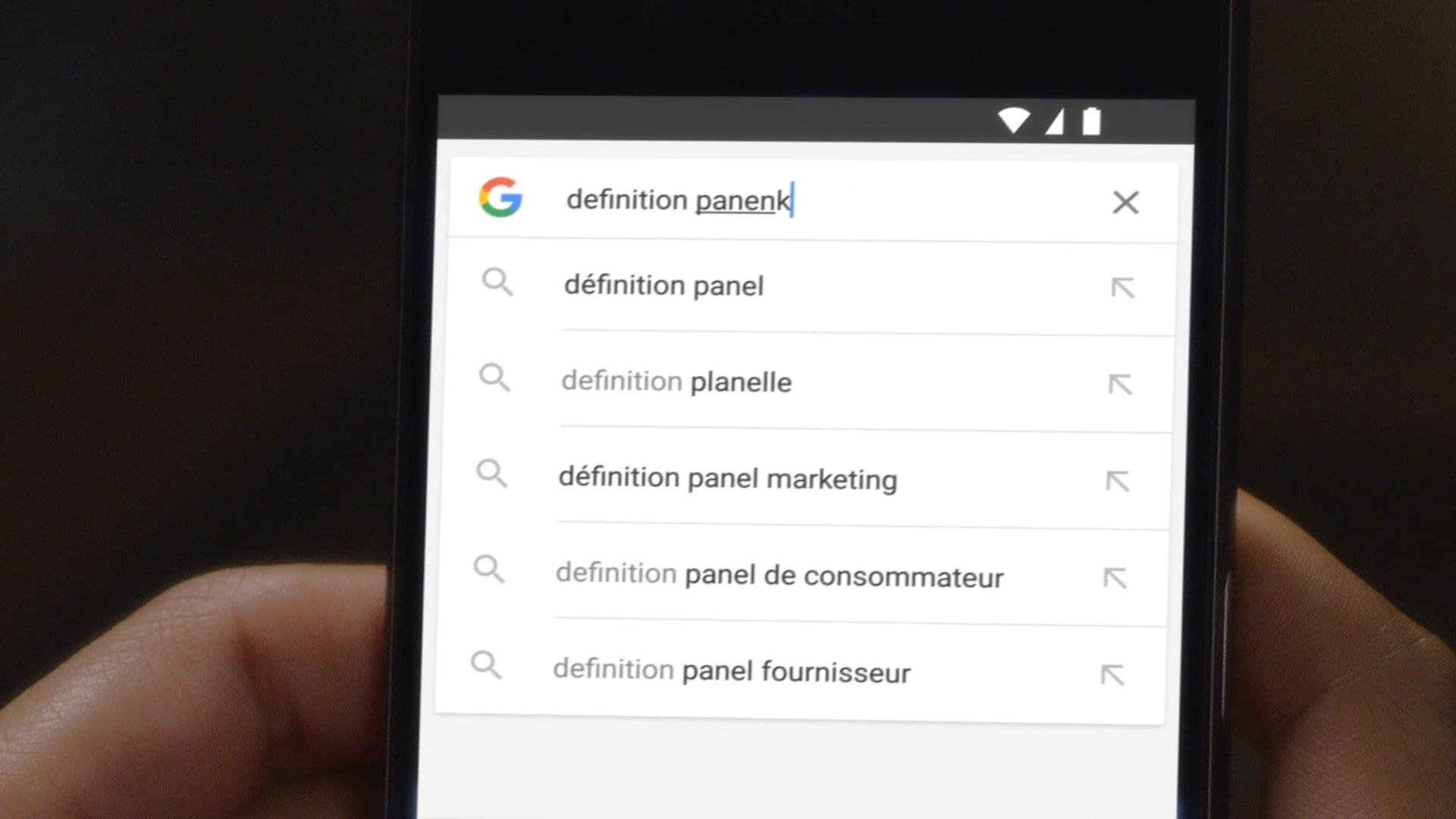 Google - Laura, Audrey, panenka