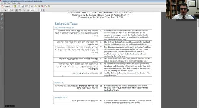 Many Roles of Rabbinic Leadership
