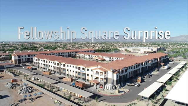 Fellowship Square Surprise: August Progress