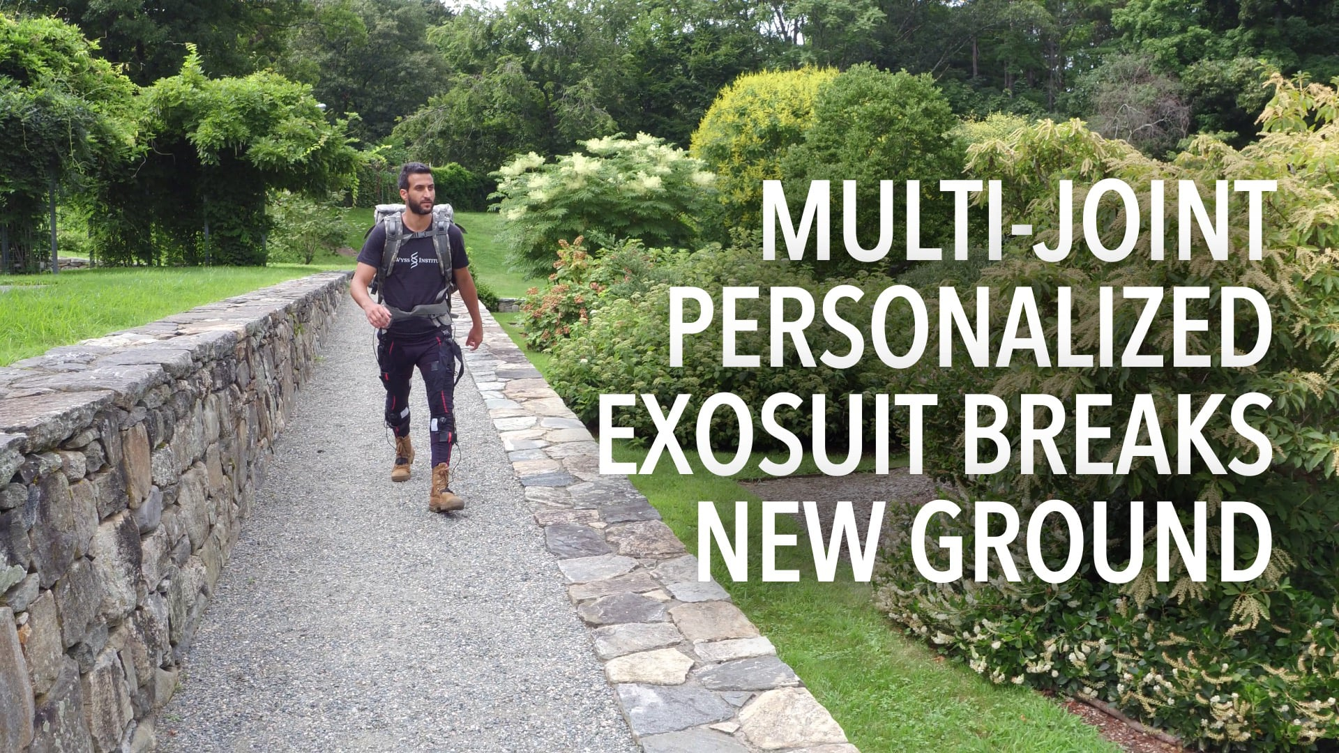 Multi-joint Personalized Soft Exosuit Breaks New Ground
