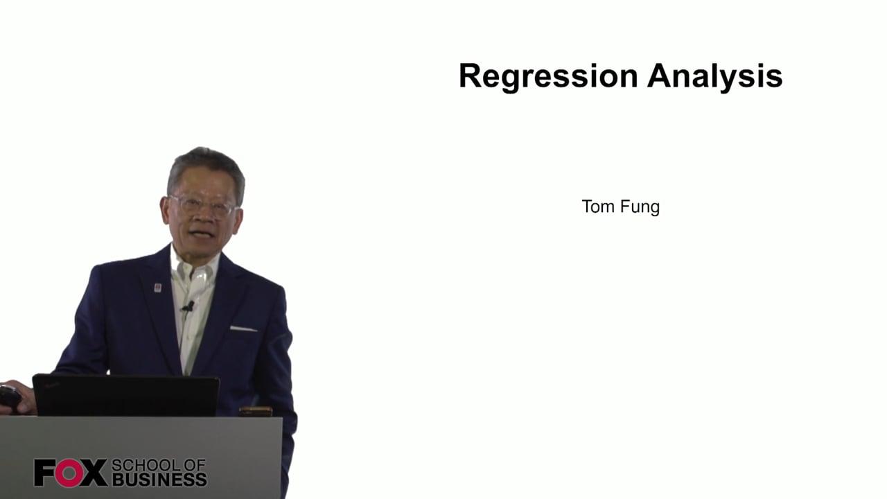 60992Regression Analysis