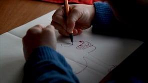 Watch Orson draws a creature
