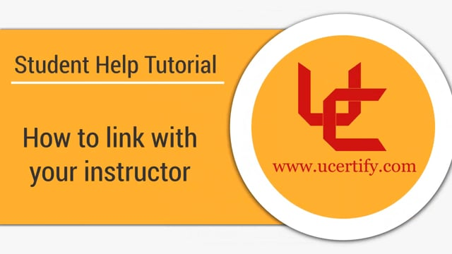 How to link with your instructor