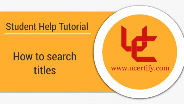 How to search titles