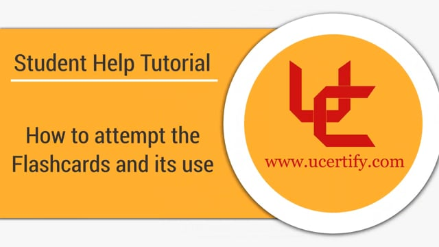 How to attempt the Flashcards and its use