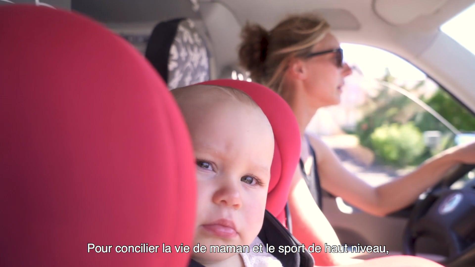 La Boulangère - Tour de France à la voile - Portrait Mathilde