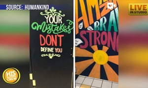 School Offers Encouragement in Unlikely Place