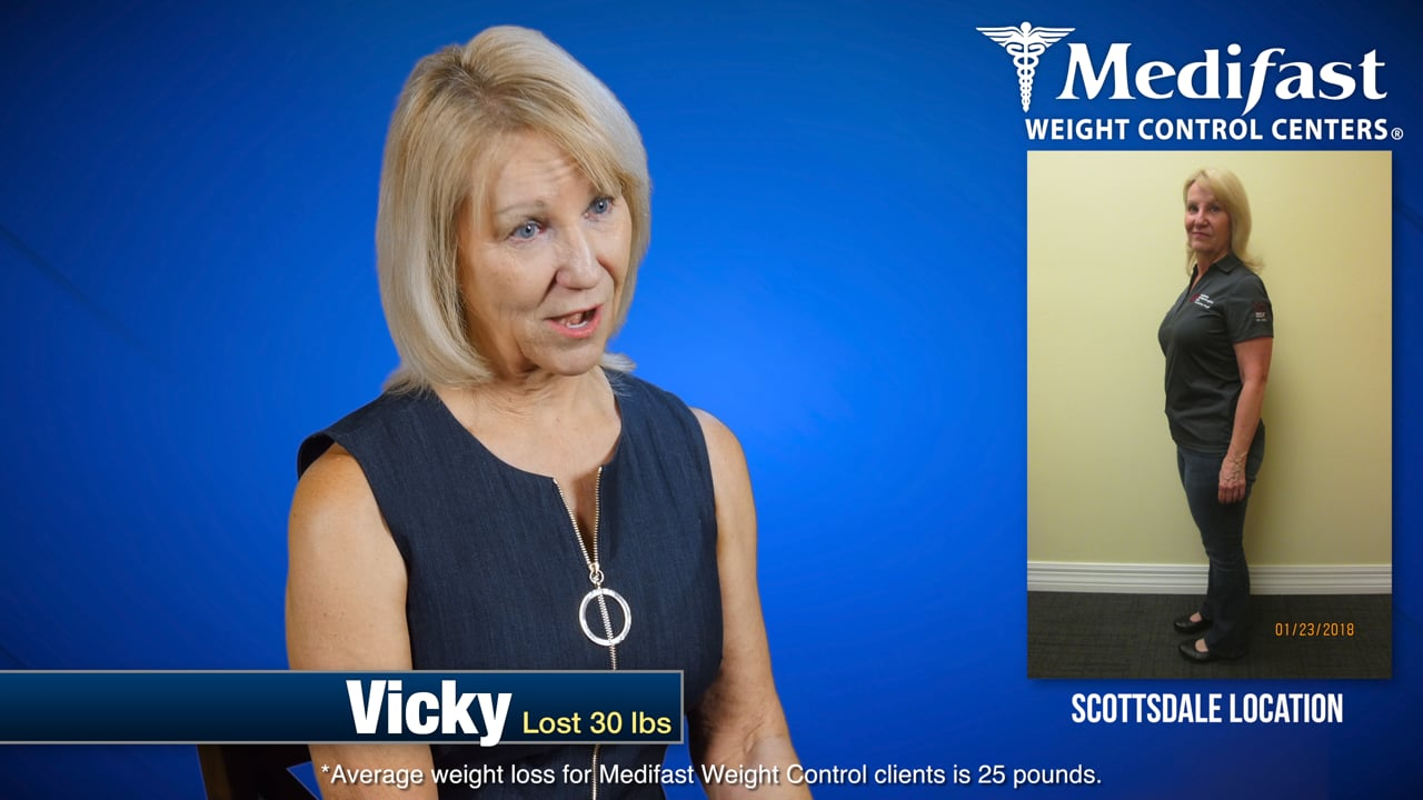 Vicky Lost 30lbs at Medifast Arizona - I'm Amazed Every Day!