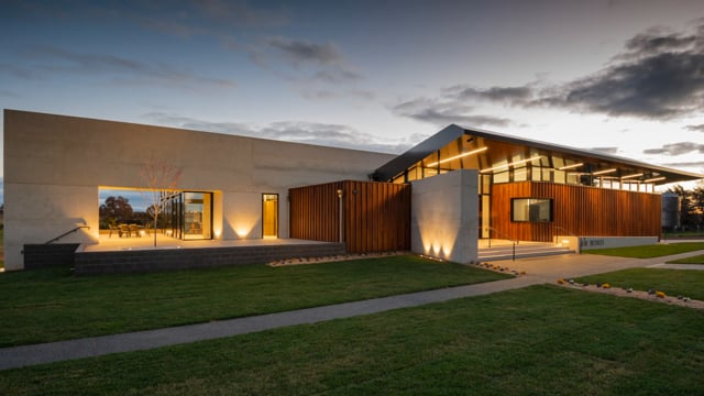 Shaw Wines Cellar Door - Construction Time Lapse