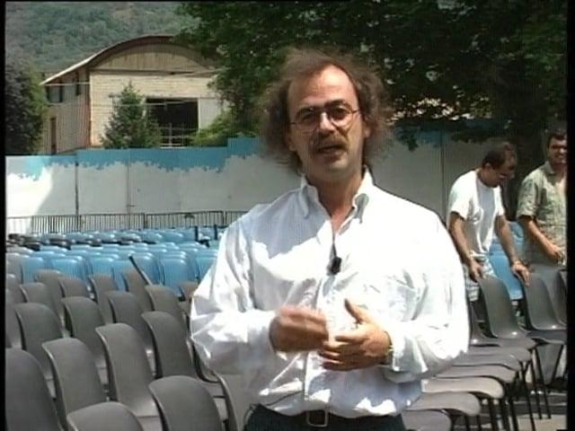 Maurizio Nichetti presenta Giffoni 1991 per la RAI