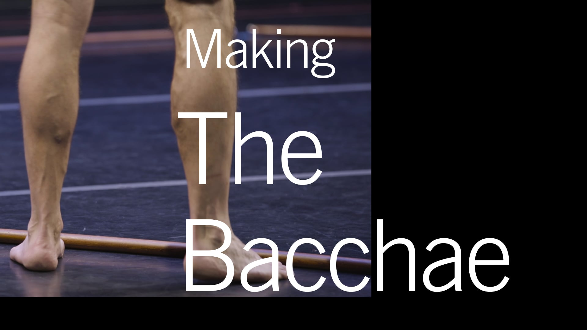 Making The Bacchae: BAM 2018 Next Wave Festival