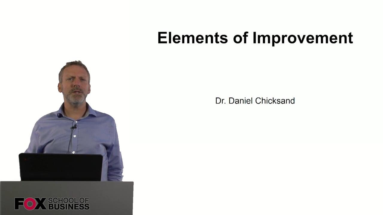 60998Elements of Improvement