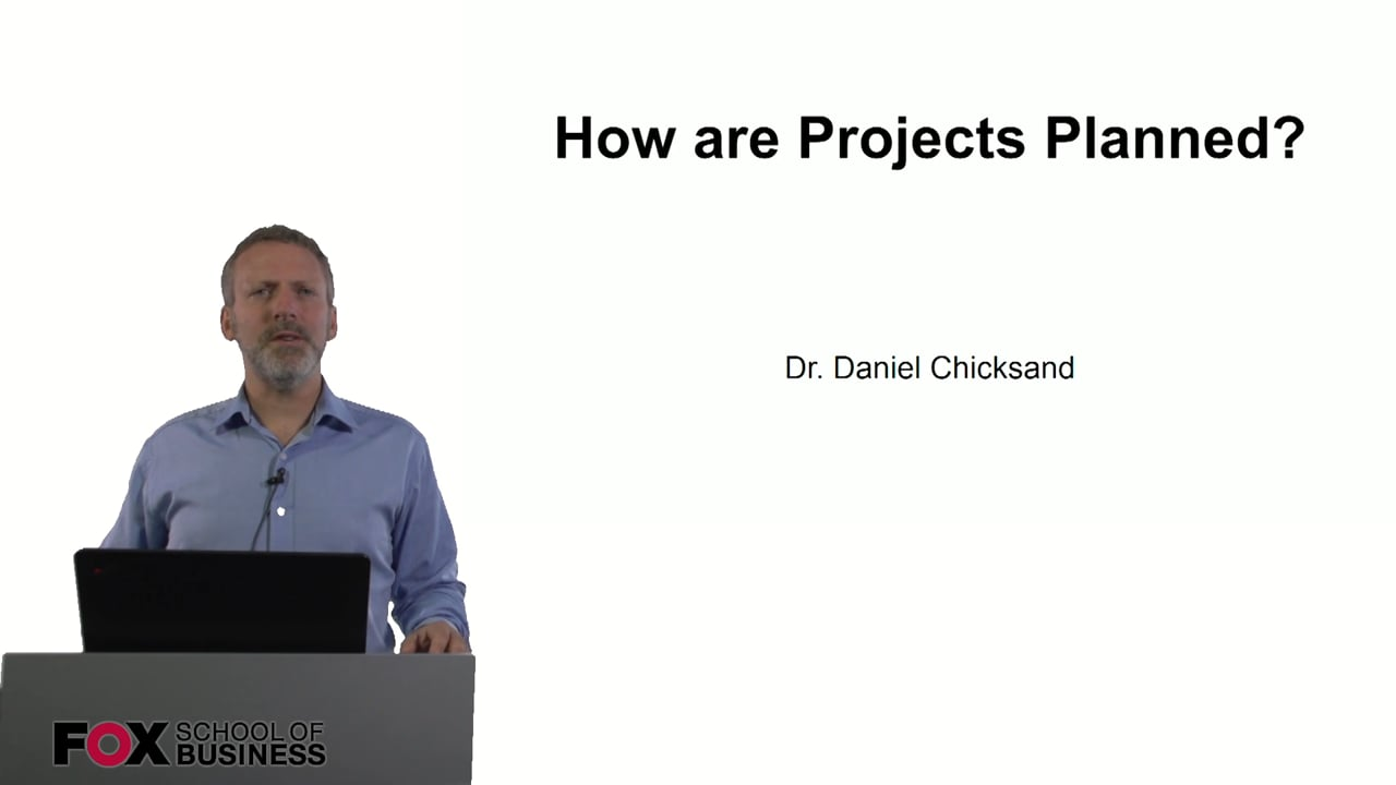 61003How Are Projects Planned