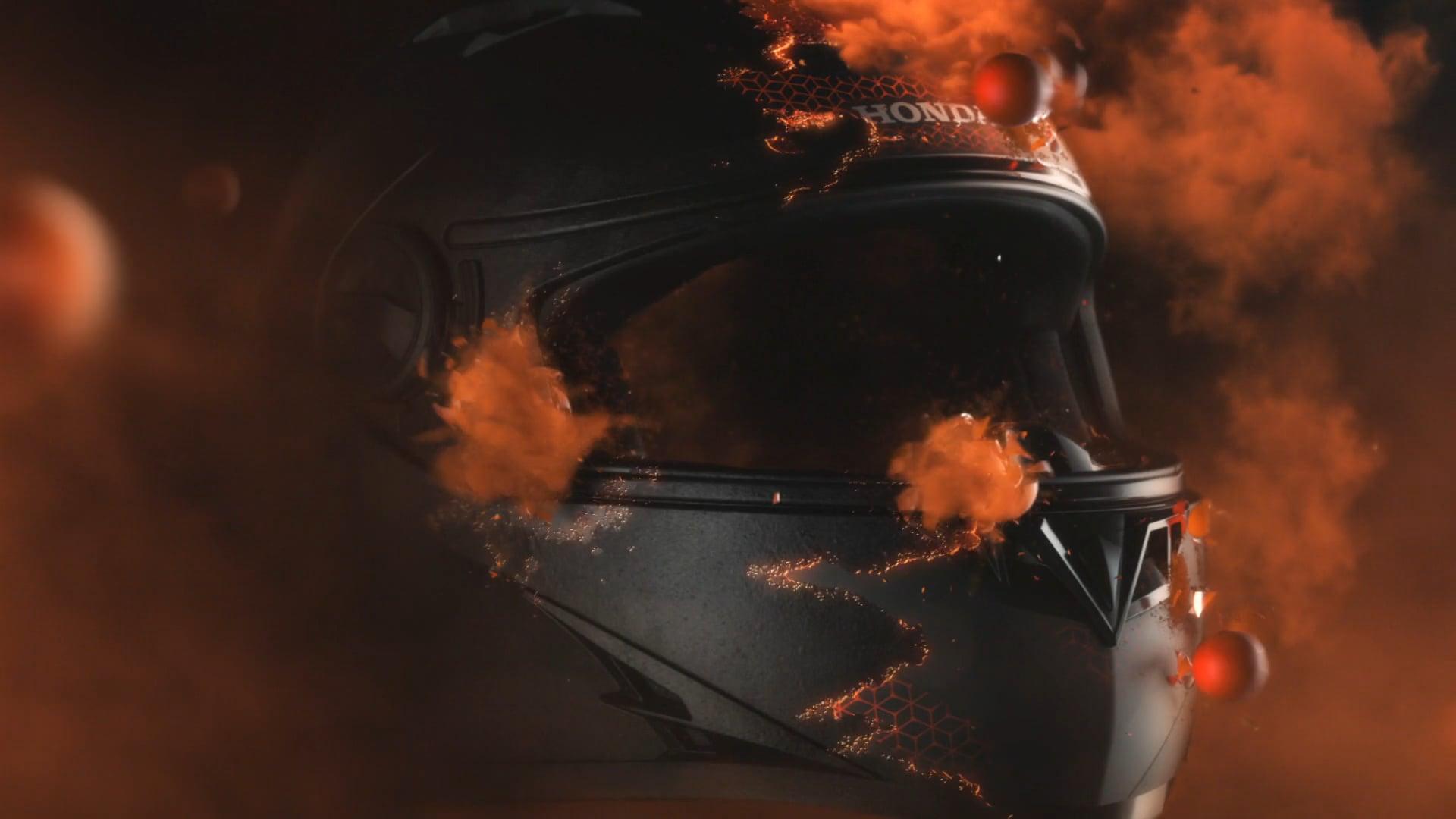 Honda Helmets - VFX Breakdown