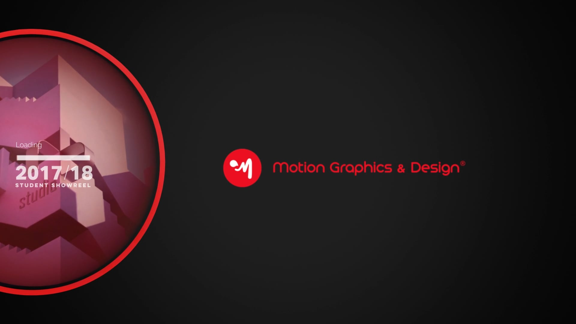 Master in Motion Graphics & Design - Student Reel AA 2017 - 2018