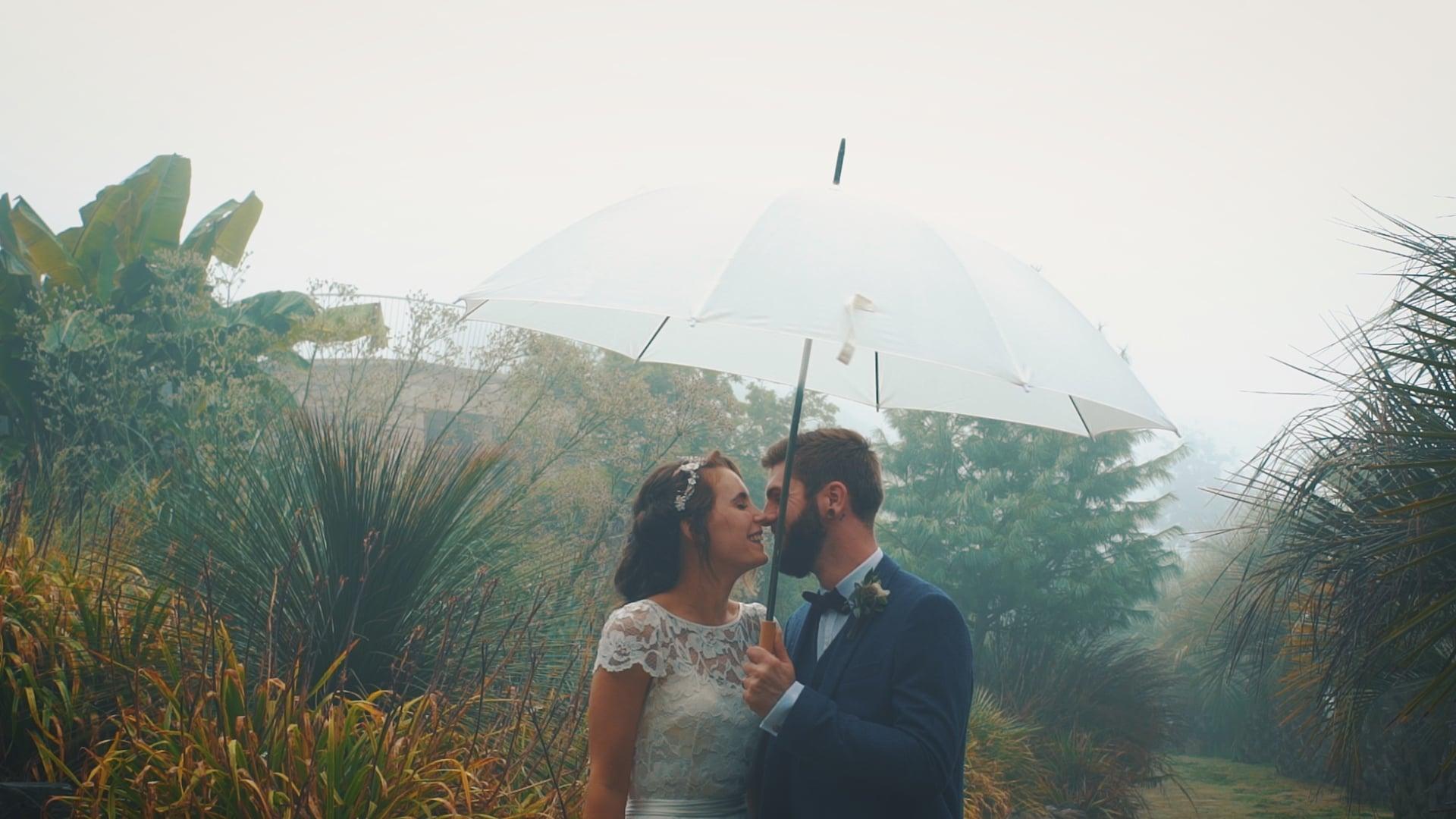 Elopement Wedding video Trenmenheere Gardens, Cornwall - Amy & Daniel