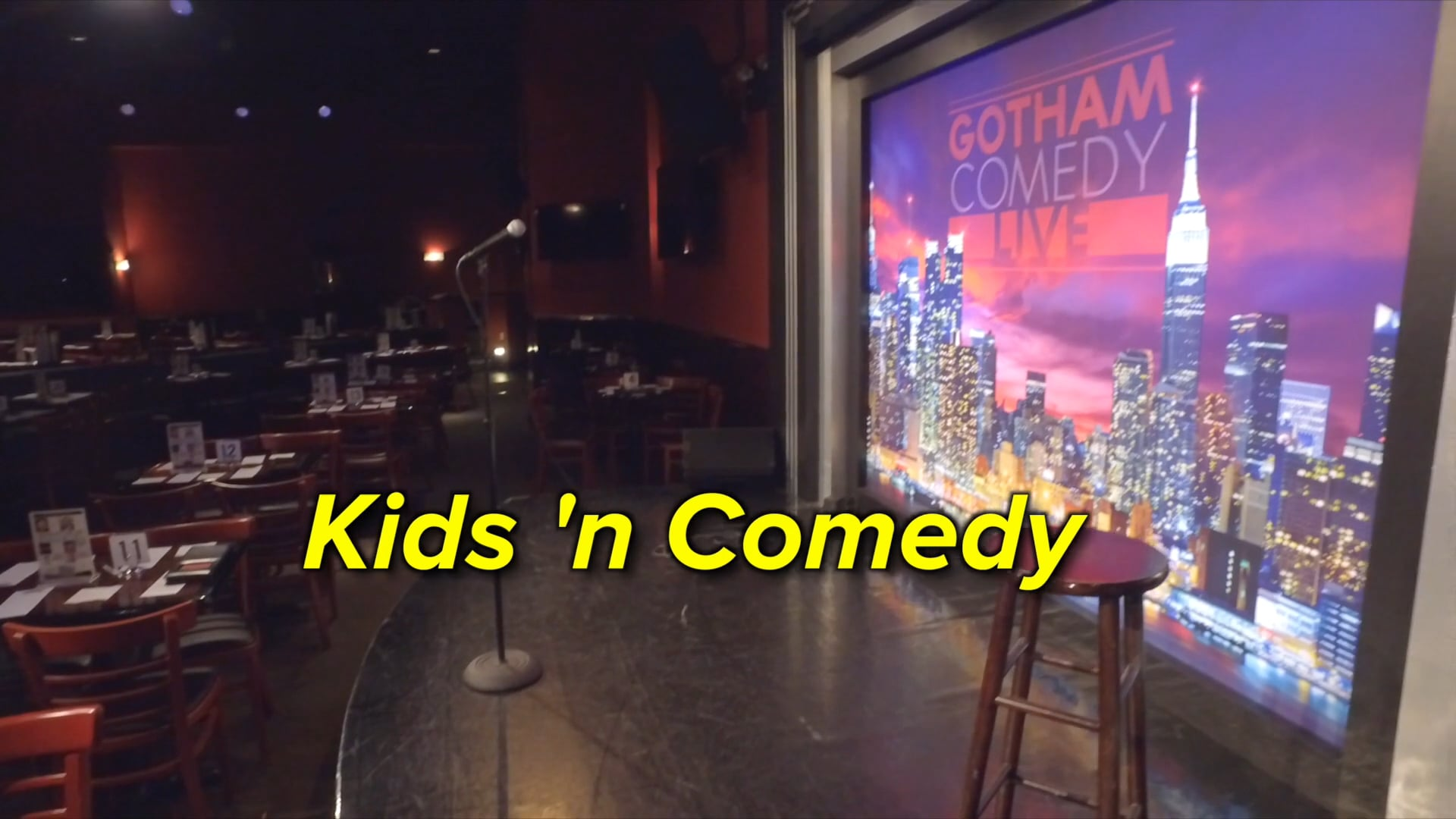 kids 'n comedy younger group