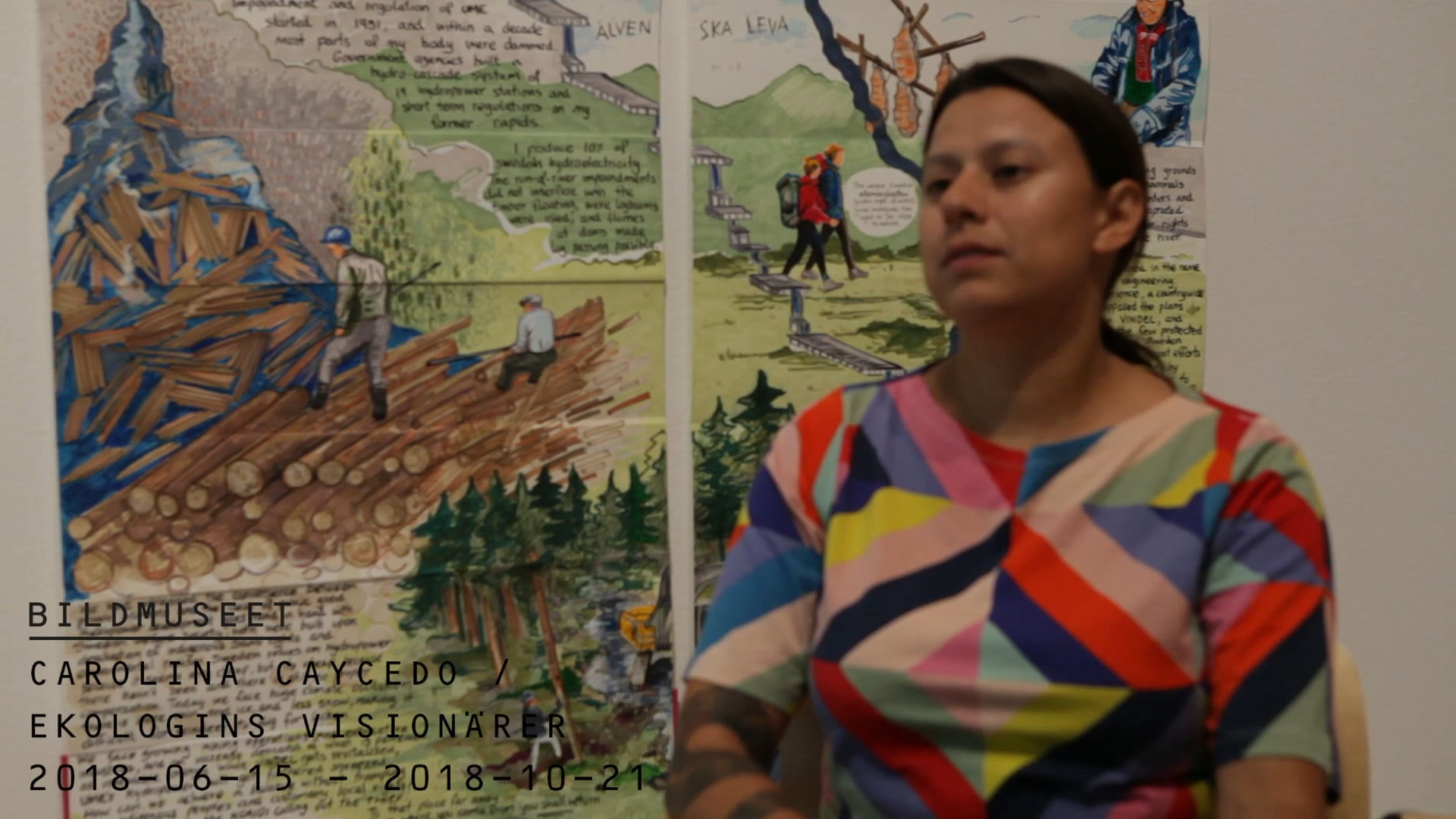 Film: Ekologins visionärer / Carolina Caycedo