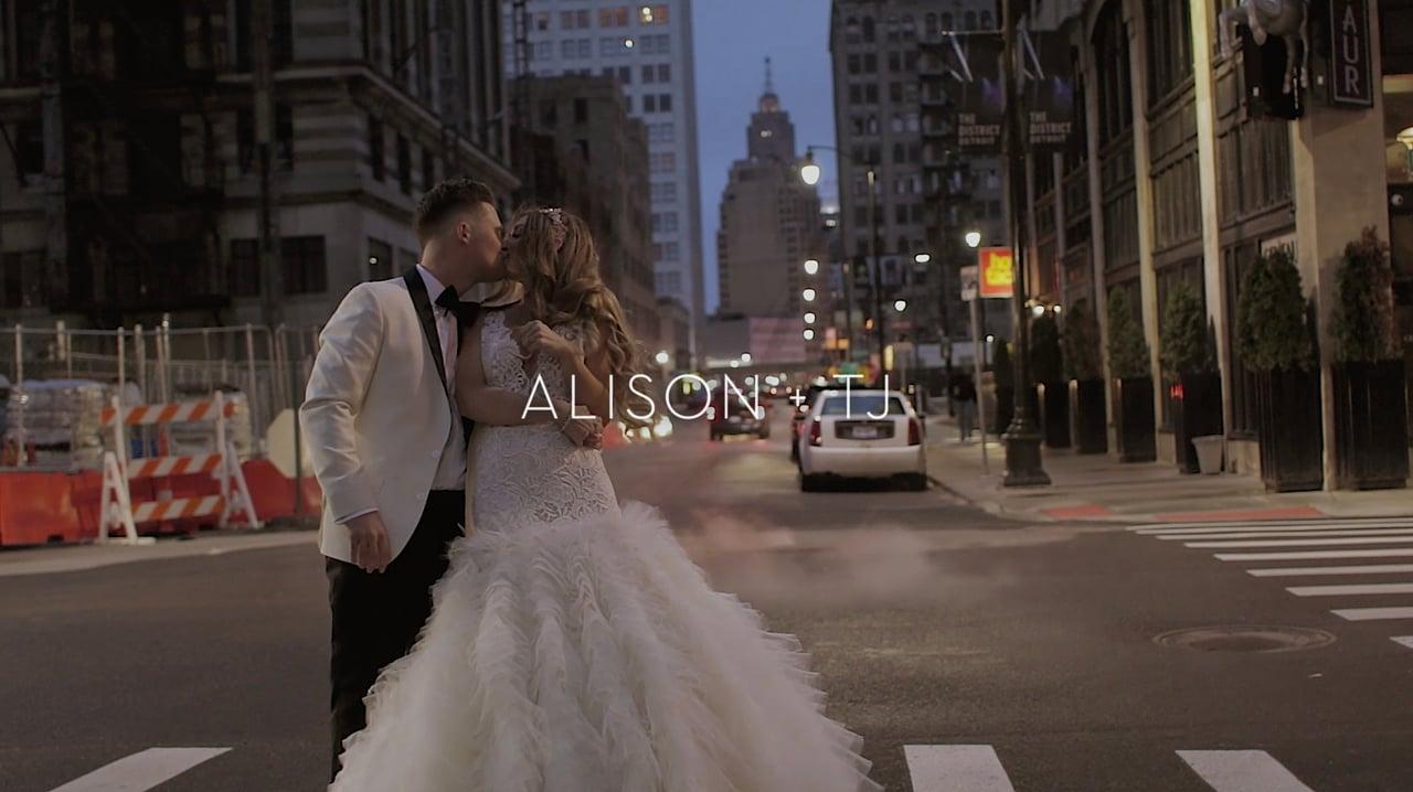 alison + tj | wedding film.