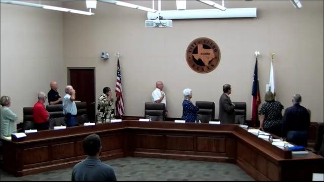 9-10-18 Council Meeting
