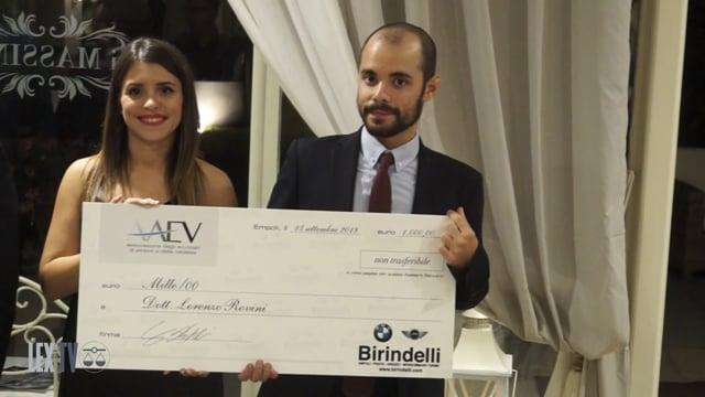 13/09/18 Associazione Avvocati dell'Empolese Val D'elsa, un realtà consolidata al centro della comunità. I premi della cena di gala.