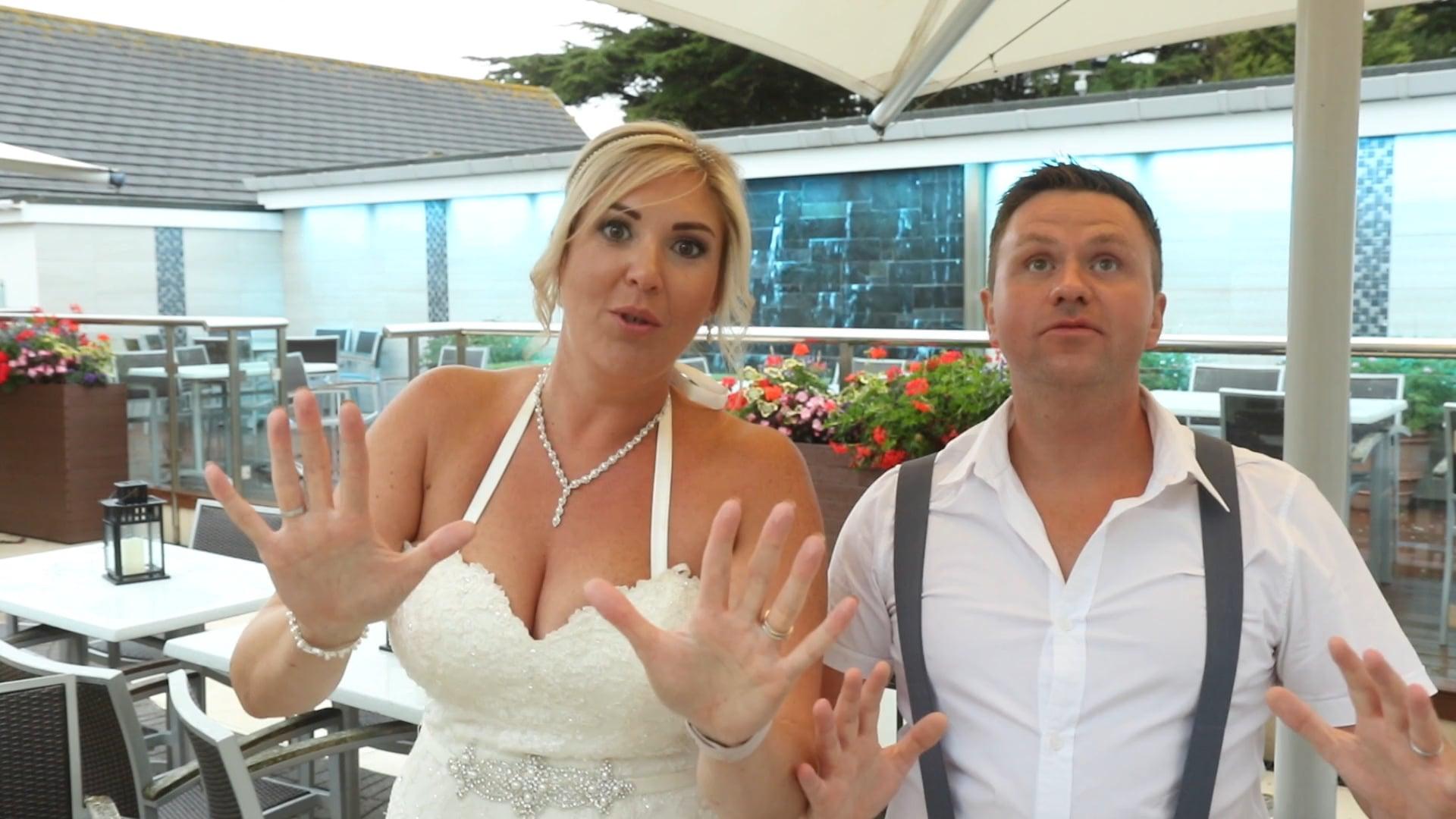 """Don't Stop Me now""- Mr & Mrs Owen's Marryoke, Hi Tide, Porthcawl"