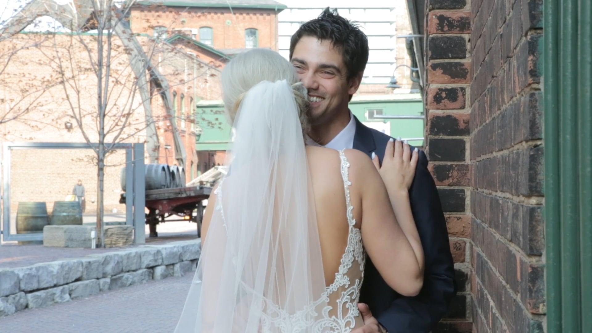 Sydney & Jon Distillery District Wedding