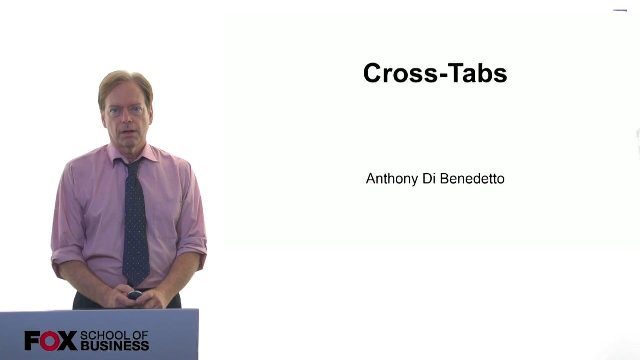 61049Cross-Tabs