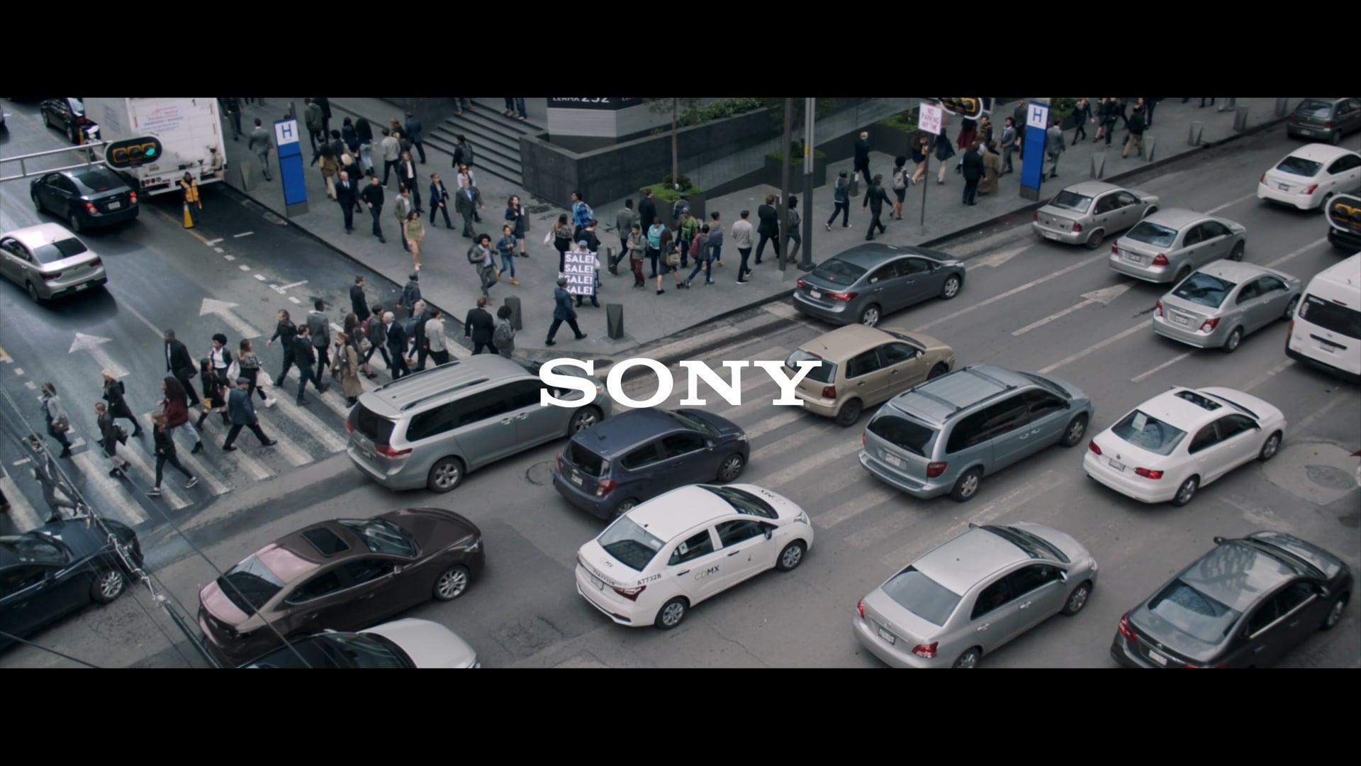 SONY - noise cancelling headphones