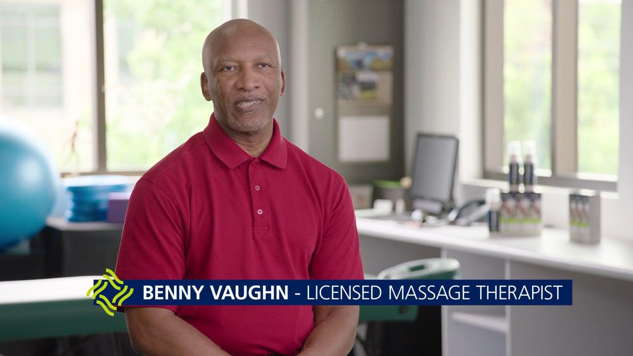 Benny Vaughn – Licensed Massage Therapist