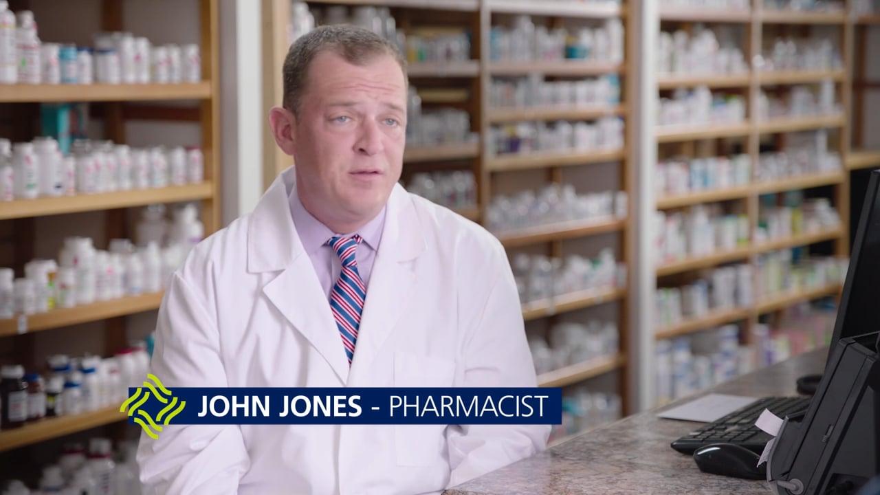 John Jones – Pharmacist